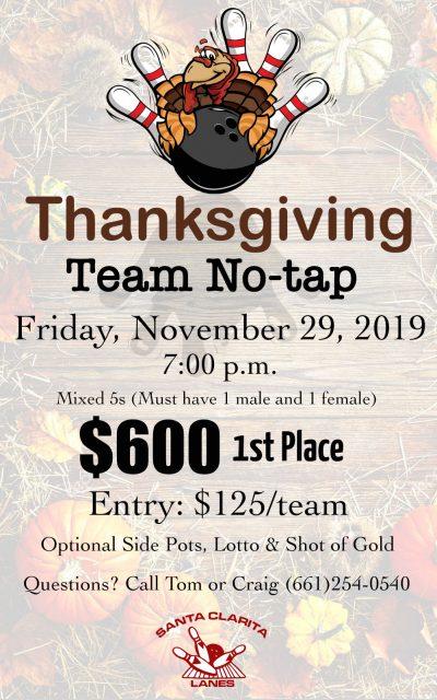 Thanksgiving No-Tap