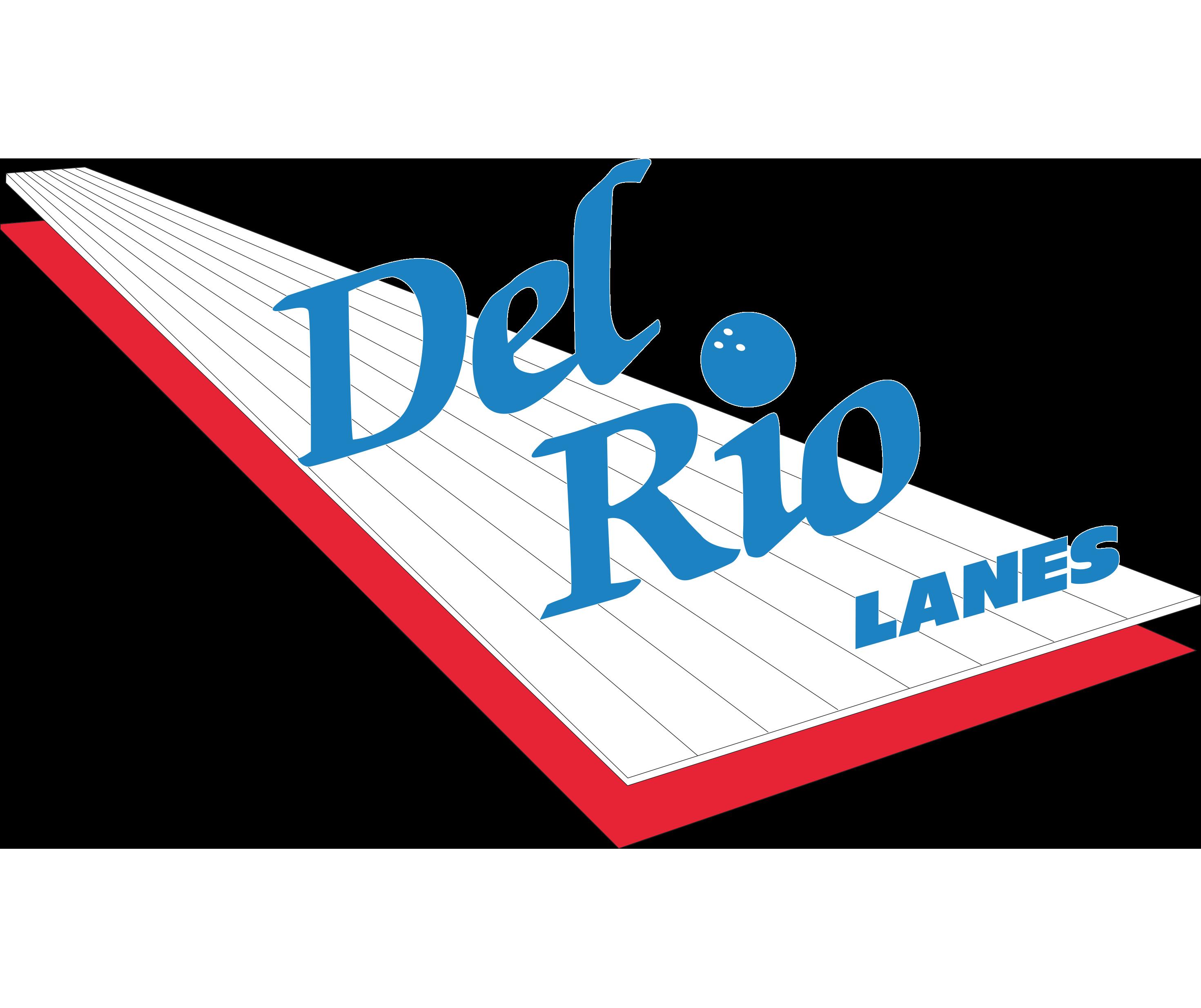 Del Rio Lanes logo