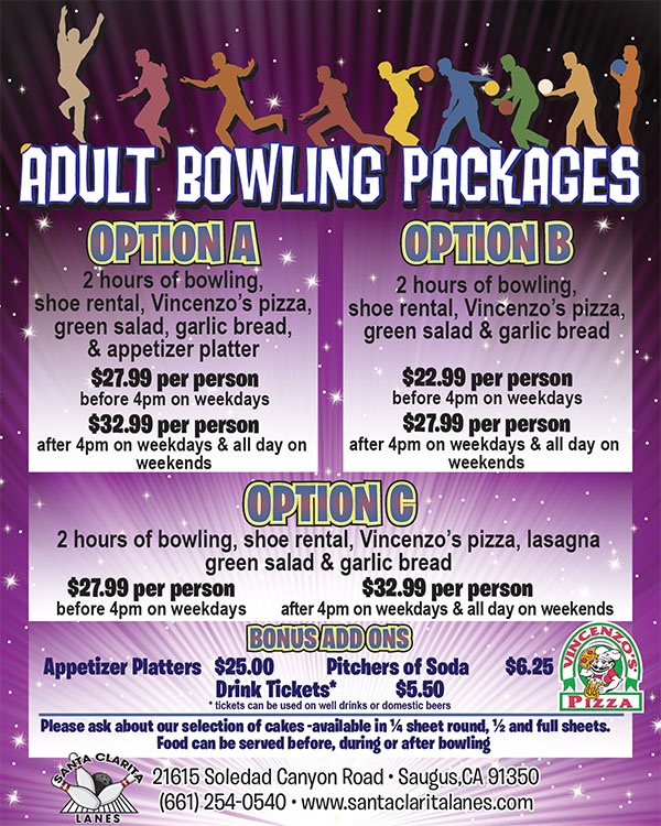 Adult Group Packages